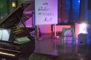 In Waldeseinsamkeit - Liederabend mit Efa Hoffmann mit Edward Rushton - Buehne